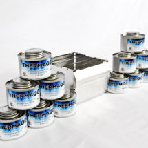 CK0712-LP-ThermaFuel Set of 12 Cans with Bobcat Stove-V#01