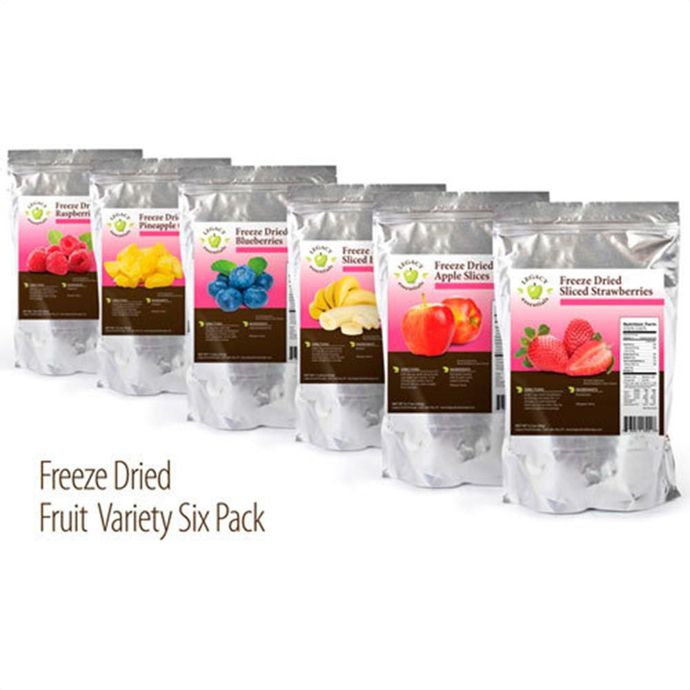 Legacy Essentials Assorted Freeze Dried Fruit Outback