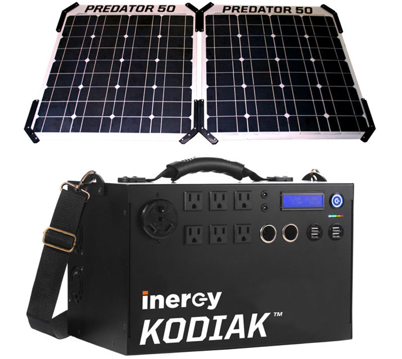 Solar Deluxe Package Outback Survival Supplies